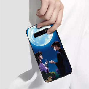 Inuyasha Miroku&Sango Anime Phone Case-Tempered Glass Cover