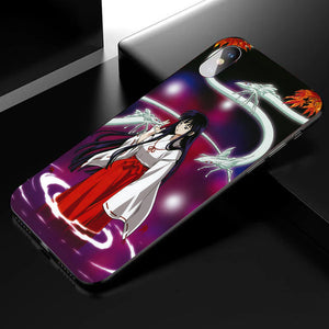 Inuyasha Kikyō  Anime Phone Case 3-Tempered Glass Cover