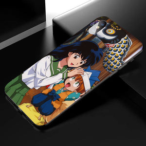 Inuyasha Anime Phone Case -Tempered Glass Cover