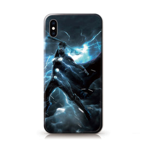 Marvel Avenger infinity Thor Anime Phone Case-Tempered Glass Cover