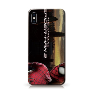Marvel Amazing Spiderman Anime Phone Case-Tempered Glass Cover