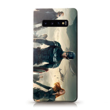 Load image into Gallery viewer, Marvel Captain America S.H.I.E.L.D. Anime Phone Case--Tempered Glass Cover