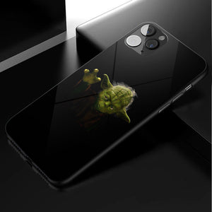 Star Wars Baby Yoda Anime Phone Case 3-Tempered Glass Cover (iPhone Case&Samsung Case)
