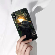 Load image into Gallery viewer, Star Wars Baby Yoda Anime Phone Case 4-Tempered Glass Cover (iPhone Case&Samsung Case)