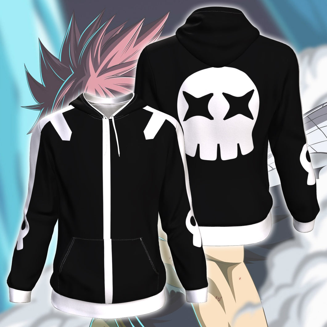 Fairy Tail Natsu Dragnel Zip Up Hoodie