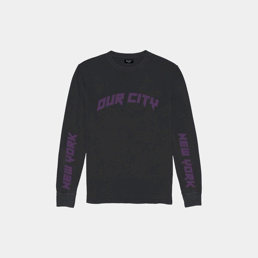 NEW YORK SKYLINE LONG SLEEVE