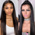 Human Hair Wigs Pre-Plucked with Baby Hair Lace Wig Peruvian Straight Hair