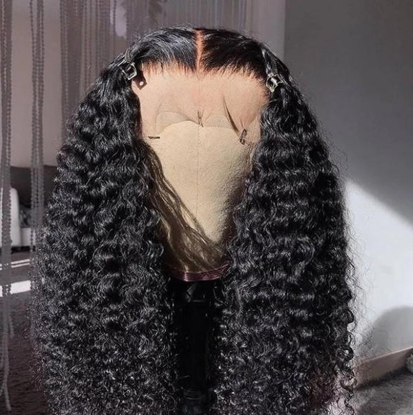 No glue full lace curly hair latest