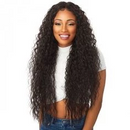 Sexy Curly 360 Lace Frontal Wigs | Black/Brown Mixed Gold Human Hair