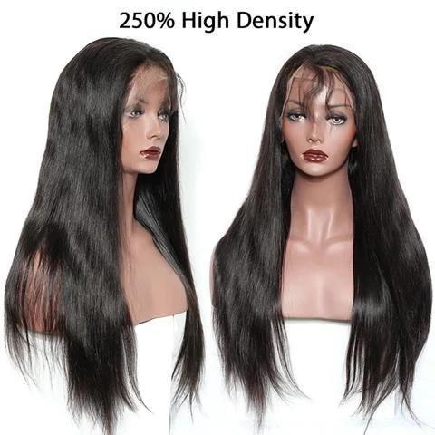 Best Choose-250% Density Straight Hair 360 Lace Frontal Wig