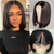 Brazilian Straight Hair 360 Lace Bob Wigs Lady Wig