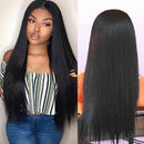 360 Full Lace Wigs Straight Lace Frontal Wigs 100% Remy Human Hair Wigs With Baby Hair