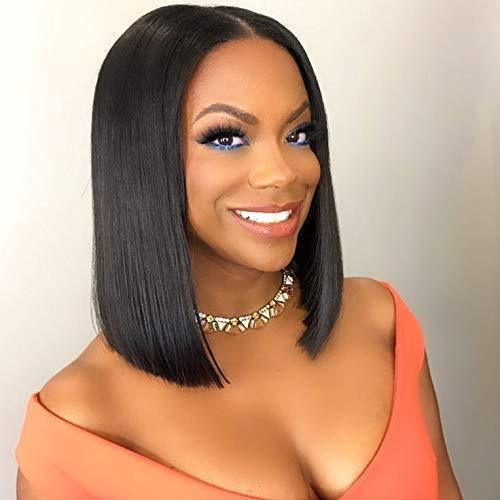 140% Density Short Straight BOB Lace Wig