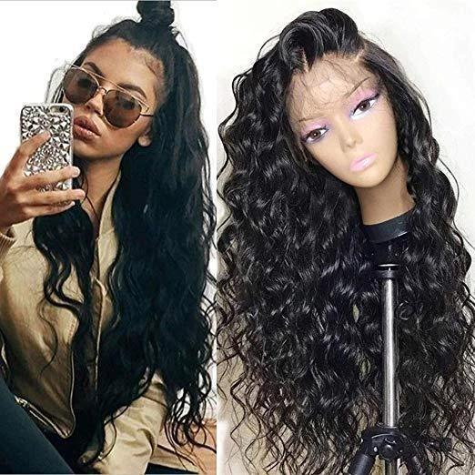 Glueless Lace Front Lace Wigs for Women Natural Wave Pre-plucked Hairline with Baby Hair