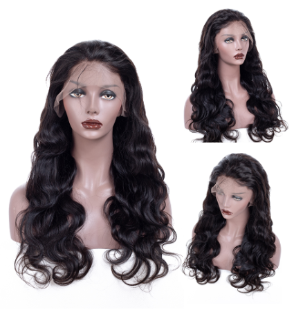 Body Wave Lace Front Human Hair Wigs For Women Peruvian Human Hair Wig Pre Plucked With Baby Hair  Remy Lace Wig