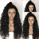360 Lace Front Human Hair Wigs Pre Plucked  Brazilian Deep Wave Lace Wigs For Women Pre Plucked With Baby Hair