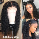Curly Lace Front Human Hair Wigs For Black Woman Pre Plucked With Baby Hair Remy Hair