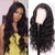 Brazilian Full Lace Human Hair WigsTransparent Glueless Full Lace Wave Wigs Lady Wig