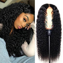 Brazilian Lace Front Wig Curls Lace Front Human Hair Wigs Lady Wig