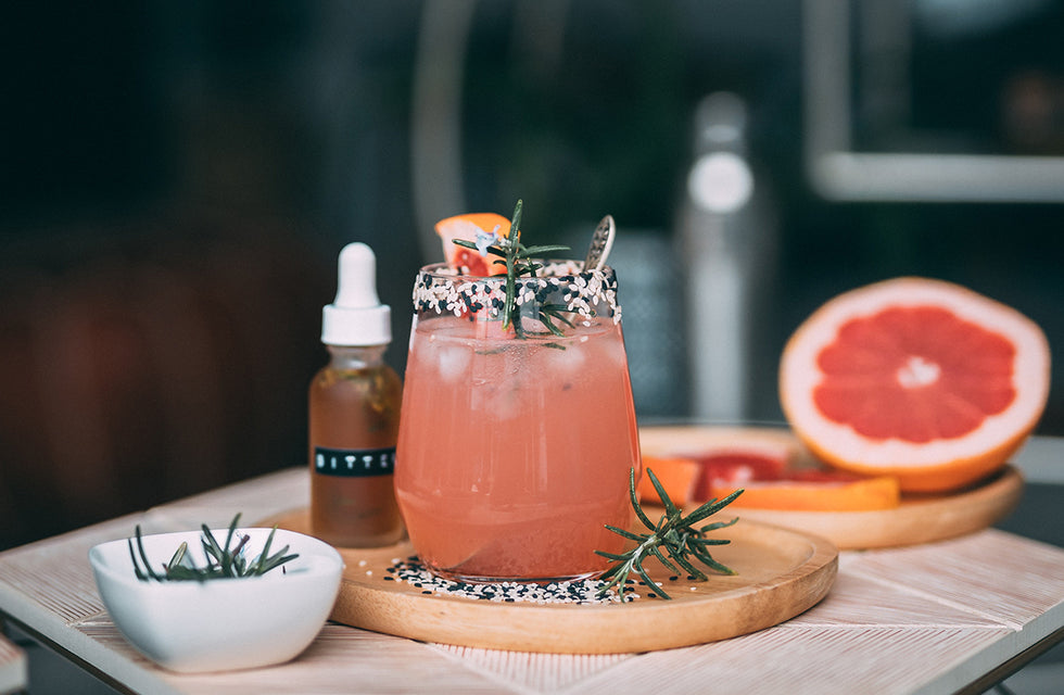 Summery Mocktails with CBD