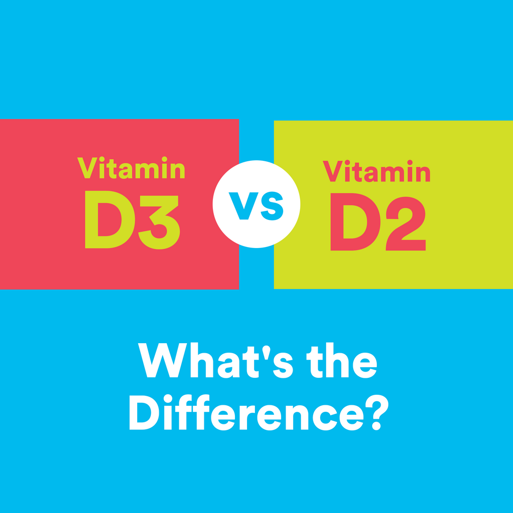 Bluebird Botanicals Vitamin D2 And D3 What's The Difference