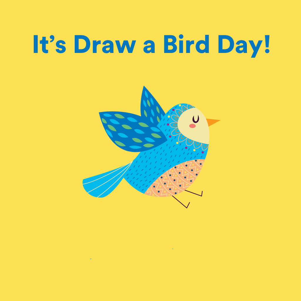 Bluebird Botanicals Draw a Bird