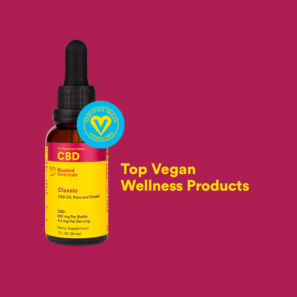 Bluebird Botanicals Top Vegan Wellness Supplements