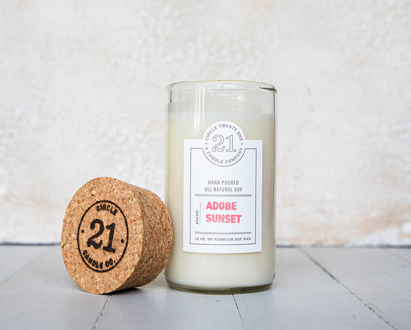 Circle 21 Adobe Sunset Scented Soy Candle