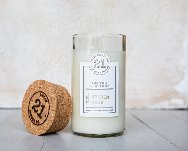 Circle 21 Golden Hour Scented Soy Candle