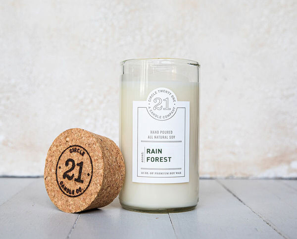 Circle 21 Rain Forest Scented Soy Candle