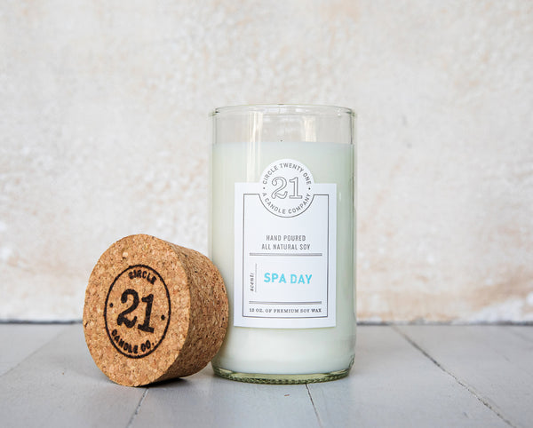 Circle 21 Spa Day Scented Soy Candle