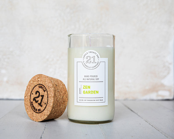 Circle 21 Zen Garden Scented Soy Candle