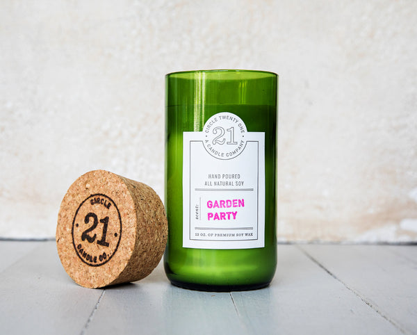 Circle 21 Garden Party Scented Soy Candle