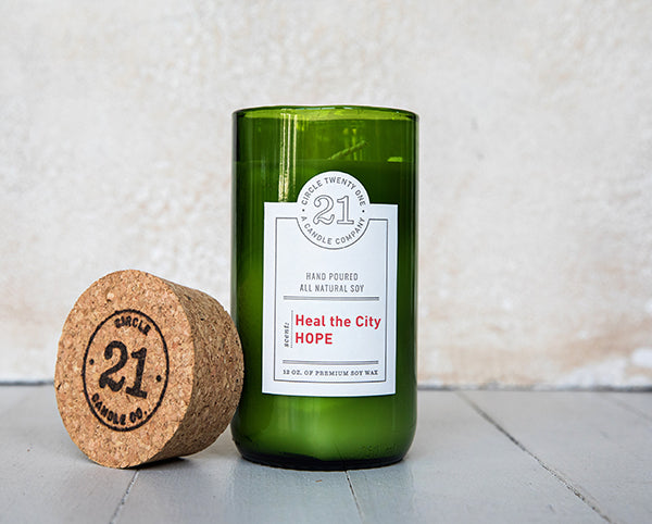 Circle 21 Hope Scented Soy Candle
