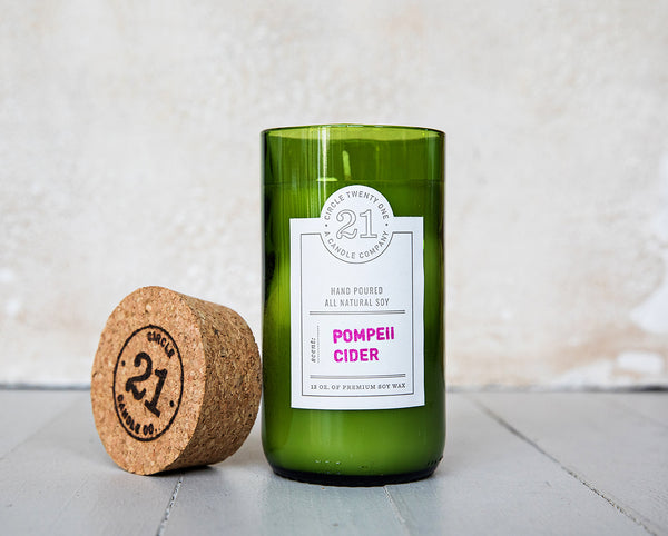 Circle 21 Pompeii Cider Scented Soy Candle