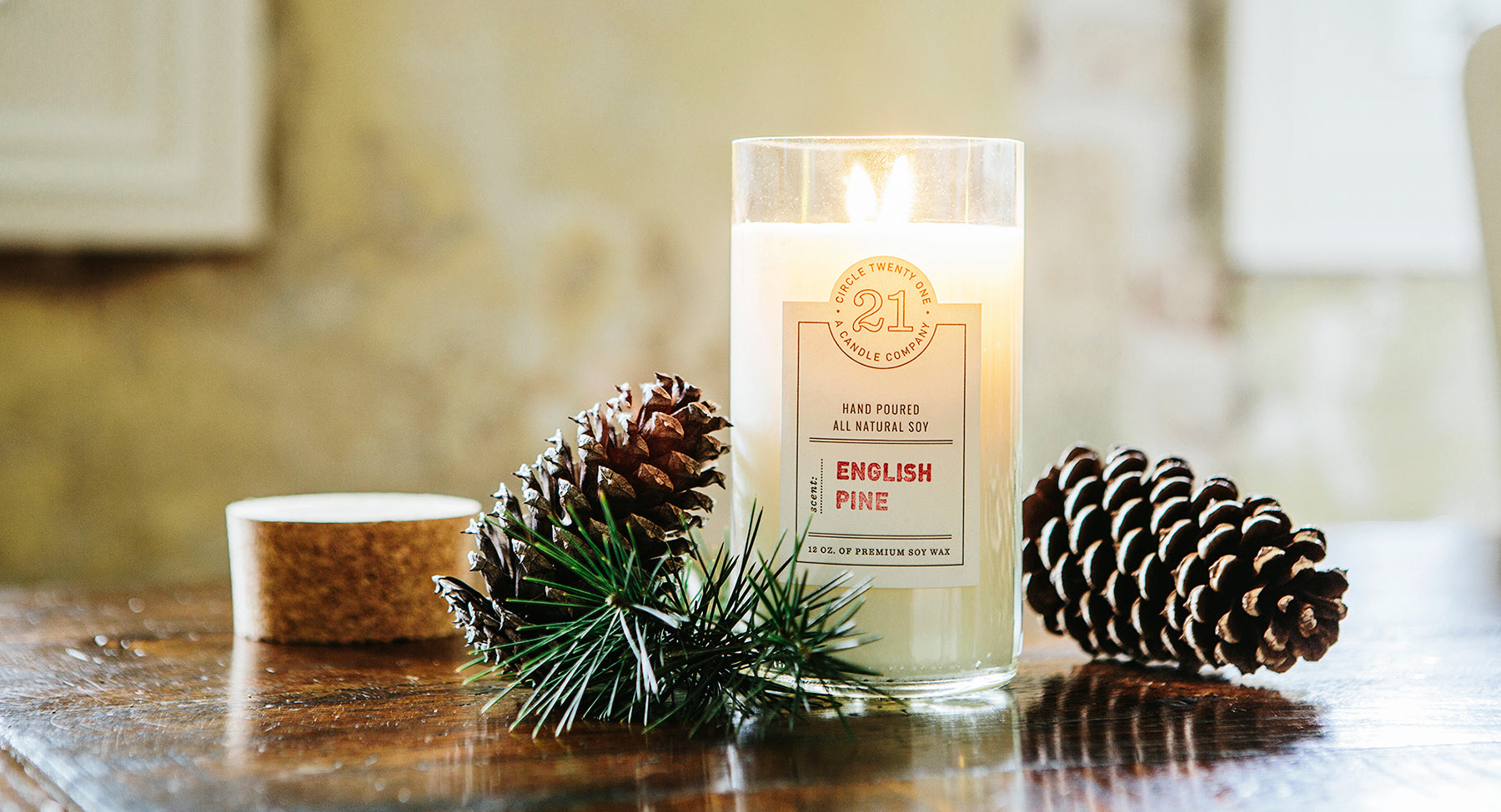 Soy Candle English Pine
