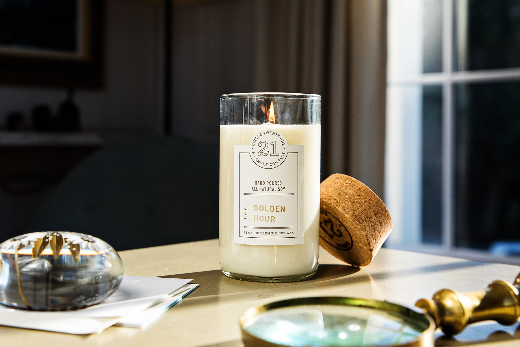 Golden Hour Scented Soy Candle
