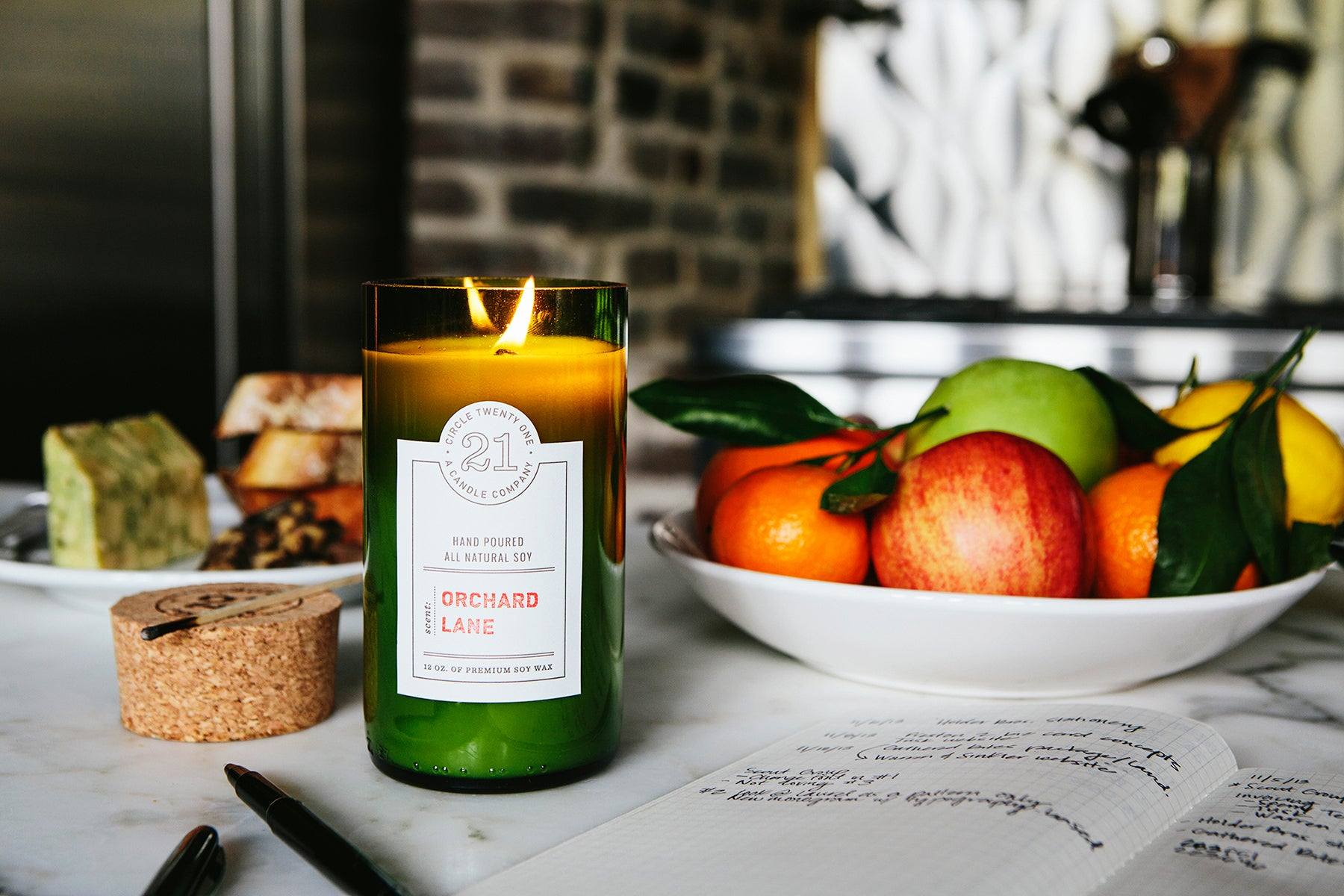 Orchard Lane Scented Soy Candle