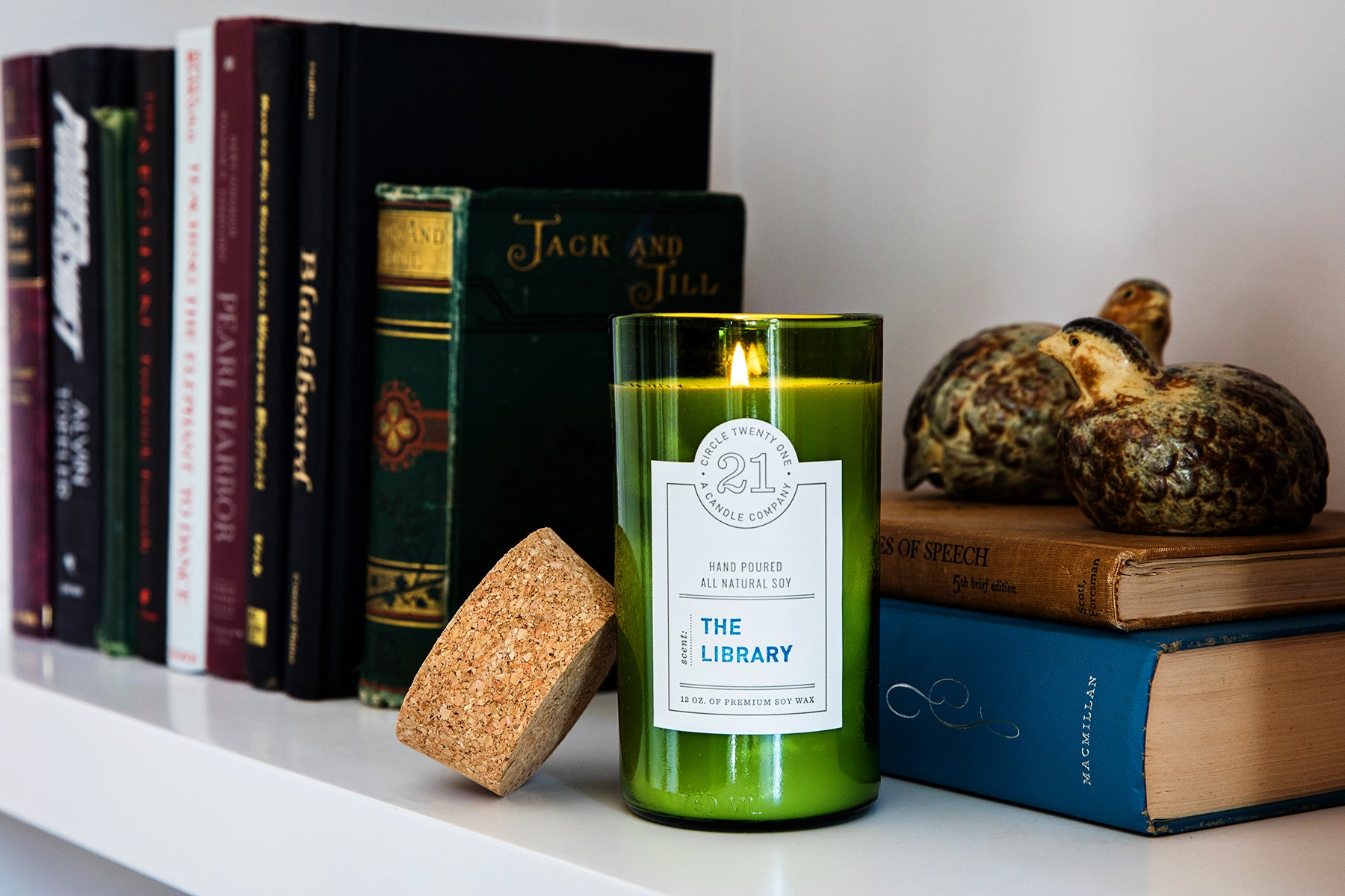 The Library Scented Soy Candle