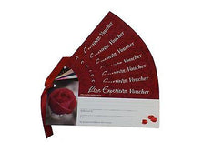 Love Vouchers - Blank Novelty Gift Cards for you to Complete
