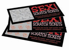 Sex Scratch Tickets