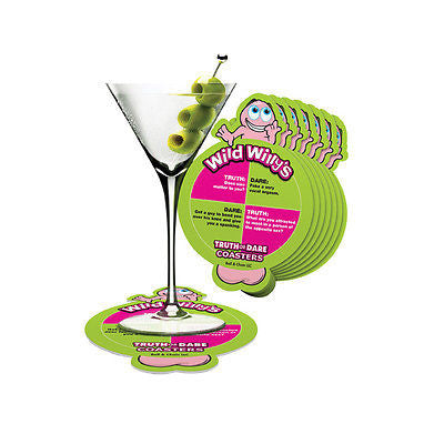 Wild Willy's Truth Or Dare Coasters | Hen Party Girls Nights Game