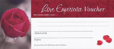 Love Vouchers | Set of 7 Coupons |  Blank for You to Write Your Own