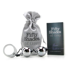 Fifty Shades of Grey | Inner Goddess Silver Metal Pleasure Balls