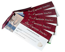 Love Vouchers - Set of Novelty Gift Cards