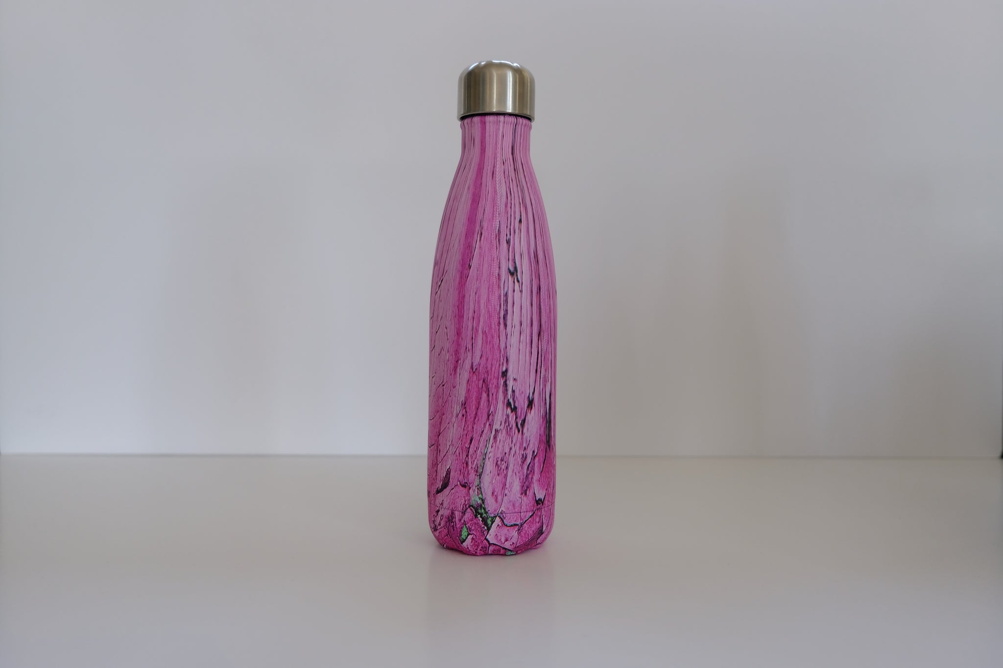 Pink Wood Effect 500ml Classic Bottle – Sample