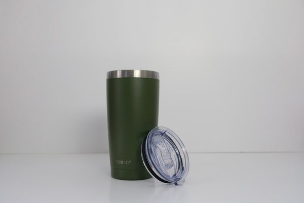 Military Green Tall Cup