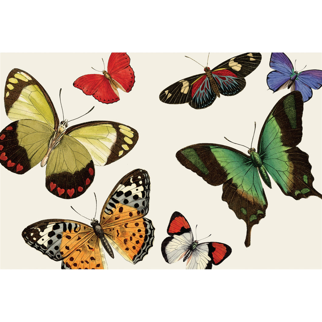 Individuales de Papel - Mariposas