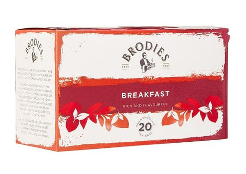 Brodies Breakfast Tea - 20 sachets