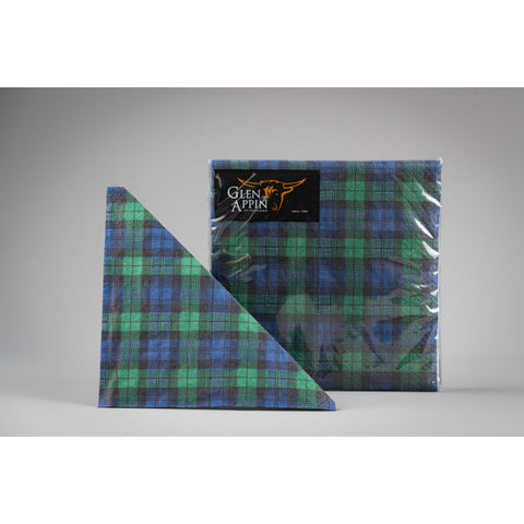 Glen Appin - Serviettes de table en motif tartan